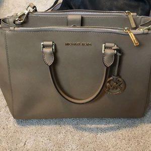 Authentic Michael Korhs leather bag